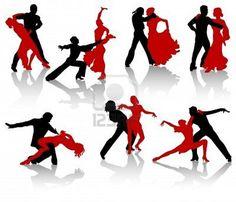 Illustrations-ballroom dance