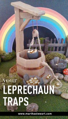 Your Leprechaun Traps | Martha Stewart Living - The night before St. Patrick's Day is notorious for tricks and mischief played by leprechauns -- fortunately, you have the wherewithal to outsmart these sneaky elves. We asked our readers to submit their best leprechaun trap ideas, and then we pulled together our favorites.
