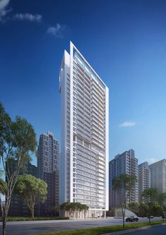 We reveal Richard Meier's first residential tower in Taipei