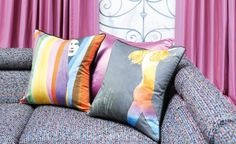 Runway featuring René Gruau - Decorative Prints and Weaves : Modern Fabrics, Unique Contemporary Designer Fabrics