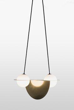DESIGN TRENDS | a contemporary selling lamp design with brass details | www.bocadolobo.com/ #luxuryfurniture #designfurniture