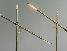 hagai vered uses metal pipe-squashing techniques to join lamp components Luxury Lighting, Interior Lighting, Modern Lighting, Lighting Design, Lighting Ideas, Affordable Furniture, Luxury Furniture, Furniture Makers, Furniture Design