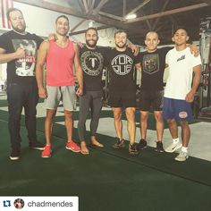 @mikenaka125 in the ATH OG with the boys from TAM putting in work via @chadmendes // #athohana  Killed another workout @capitalstrengthperformance with these flea bitten mongrels!