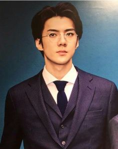 Sexy AF Sehun...... Jesus, thank you for this beautiful man!!!!!