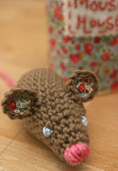 DIY Crochet DIY Yarn: DIY Mouse Pattern