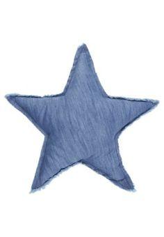 STAR - Coussin décoratif - bleu