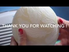 Egg Carving Tutorial - YouTube