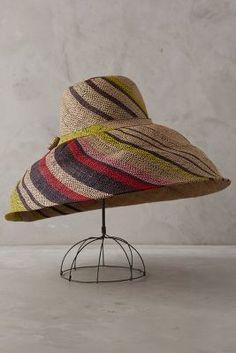 Anthropologie Isla Sun Hat #anthrofave