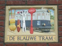 De blauwe tram 1957 - 2009 Tempelierstraat