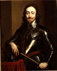 Charles I, (1600 - 1649) King of England, son of James I, grandson of Mary, Queen of Scots   Cousin
