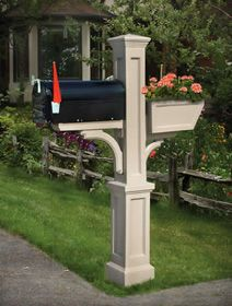 Mailbox Posts and Mailboxes