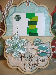 Love gift card holders....Annette really inspires me with these 4 gems using CTMH Art Philosophy Cricut cart.