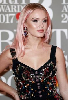 Female celebrities with pink and rose gold hair: see all the hot celebs spotted rocking the pink and rose gold hair trend.