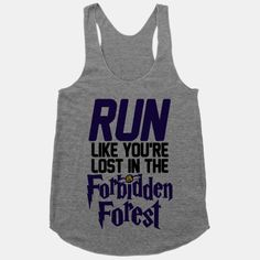 Run Like You're Lost In The Forbidden Forest #running #workout #nerdfitness #exercise #gym #harrypotter #forbiddenforest