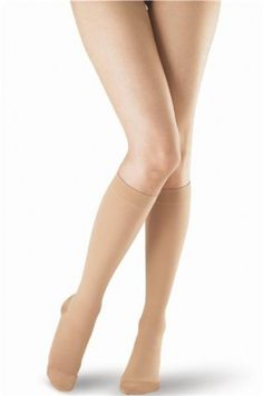 7b5bf9170a OPPO Womens Knee High Compression Stocking Closed Toe Compression Stockings,  High Knees