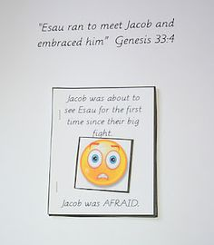 Jacob & Esau Simple Book about Feelings @ Our Country Road: Bible Activity Book