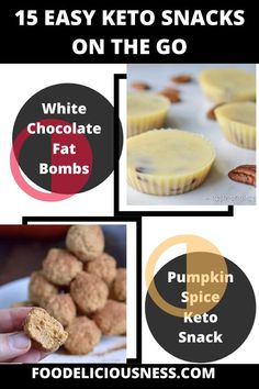 Looking for some delicious and easy keto snacks on the go? I've got a collection here of the best keto snacks for your family for holiday season! #Easyketosnacks #EasyKetoSnacksontheGo #SweetKetoSnacks #KetoSnacksforWork @foodeliciousness Good Keto Snacks, Snacks For Work, Diabetic Snacks, Food To Go, Love Food, Appetizer Recipes, Snack Recipes, Recipes Dinner, Brunch Recipes