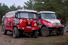 Instaforex Loprais Team 2014 - redesign and wraps for Rally Dakar Central Europe, Rollers, Jeeps, Czech Republic, Motor Car, Rally, Offroad, Techno, 4x4