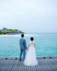 Forever begins in the Paradise! Maldives, Wedding Bells, Paradise, Ocean, News, Wedding Dresses, Image, Fashion, The Maldives