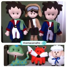 Pequenos grandes príncipes do Davi e Gabriel... 😍😍😍 #cemacarvalhohandmade…