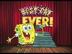 Spongebob Squarepants The Best Day Ever As I round up my Amaztastic journey why not finish it with The Best Day Ever with some classic Spongebob.