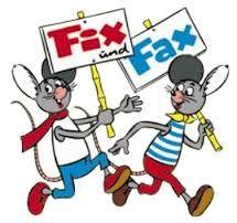 """Fix und Fax aus der Zeitschrift """"Atze"""""""