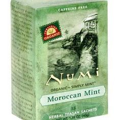 Numi Moroccan Mint: ♥♥♥ This is my favorite