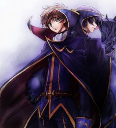 Suzaku and Lelouch / CODE GEASS Lelouch of the Rebellion
