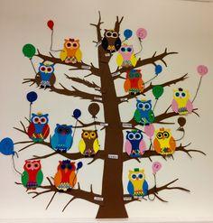 Bursdagskalender Diy And Crafts, Crafts For Kids, Arts And Crafts, Cooperative Learning, Kindergarten, Preschool, Snoopy, Teaching, Education