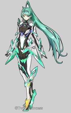 Female Character Design, Character Design References, Character Drawing, Character Design Inspiration, Game Character, Manga Art, Anime Art, Xenoblade Chronicles 2, Comic Manga