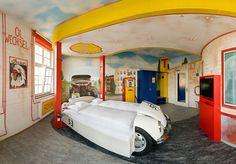 V8 Hotel Gas Station Theme