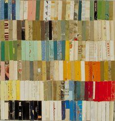 Lance Letscher Six Months, collage, 2004