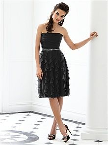 After Six Style 6649 #black #bridesmaid #dress