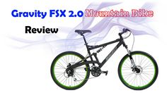 2016 Gravity FSX Dual Full Suspension Mountain Bike Shimano Acera Suntour (Matt Black with Black Wheels, Strong and Durable. Easy to Use Shifters. Adjustable Suspension - Front and Rear! Quick Release Wheels - Front and Rear. Best Cheap Mountain Bike, Mountain Bikes For Sale, Mountain Bike Reviews, Mountain Bicycle, Mountain Biking, Full Suspension Mountain Bike, Beach Cruiser Bikes, Bicycle Maintenance, Cool Bike Accessories