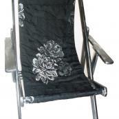 chic deckchair
