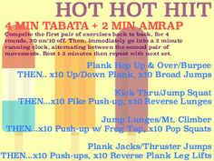 Prescribed Burn: Hot Hot HIIT