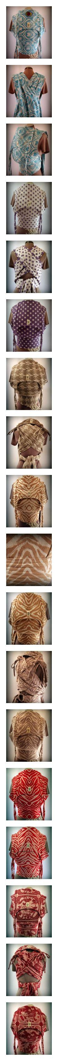 ObiMama Artipoppe Wrap Conversion Mei Tais