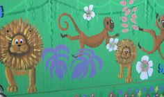 Mural by Samantha Prentice of Mural Creations.