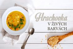 hrachová polévka Curry, Ethnic Recipes, Soups, Food, Chowders, Kalay, Soup, Curries, Meals