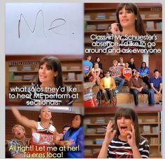 "I love Rachel Berry (""The Substitute"")"