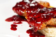 Ríbezľová omáčka z lekváru Meatloaf, Fish, Baking, Pisces, Bakken, Backen, Sweets, Pastries, Roast