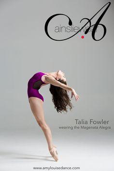 Talia Fowler wearing the Allegra by Ainsliewear