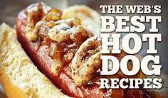 Fancy Hot Dog Recipe   The Web's Best Hot Dog Recipes