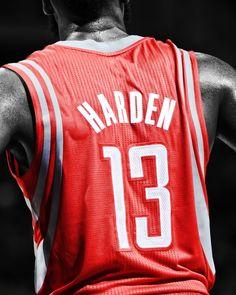 James Harden-Houston Rockets #13