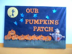 good for october....! bulletin boards