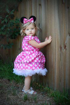#minnie mouse #halloween #costume, this looks like Little Elna Harris!
