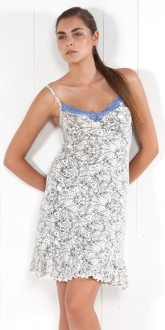 Nightgown Micromodal  You can find it from XS till 4XL