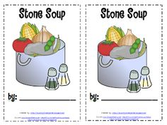 *Lil Country Kindergarten*: Stone Soup {Printables}  Available in color or b & w