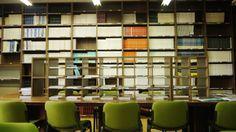 Sala de lectura. Instituto de Catálisis y Petroleoquímica (ICP) Madrid