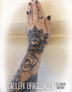 Dotwork sleeve grows. Mandala eye.